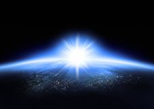 ziemska planeta Obrazy Royalty Free