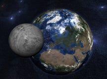ziemska planeta Fotografia Royalty Free