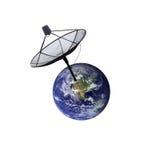 ziemska satelita Fotografia Stock