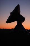 ziemska satelitarna stacja Fotografia Royalty Free