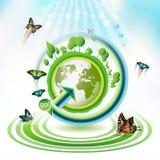 ziemska zieleń Fotografia Royalty Free