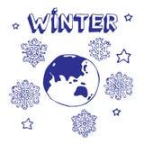 ziemska zima Obrazy Royalty Free