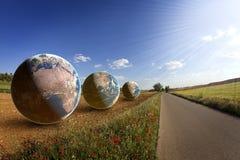 ziemski środowisko odpowiada oszczędzanie świat royalty ilustracja