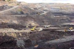 ziemski Andalusia przemysł mąci górniczego Spain Obrazy Royalty Free