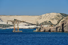 ziemski Andalusia przemysł mąci górniczego Spain Obraz Stock