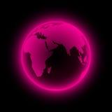 ziemski neon Obrazy Stock