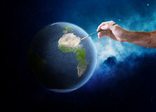 ziemski obraz ilustracji