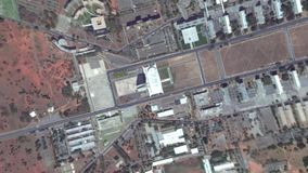 Ziemski Zbliża Wewnątrz zoom Za Brasilia Brazylia zdjęcie wideo