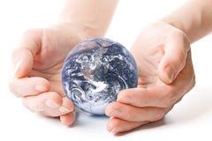ziemskich kul ręce zdjęcia royalty free