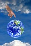 ziemskiego wiary bóg niebiańska nadzieja religia Obrazy Stock
