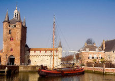 Zierikzee royalty free stock images