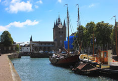 Zierikzee, The Netherlands ,Europe Royalty Free Stock Photo