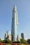 Zifeng Kontrollturm in Nanjing Stockbilder