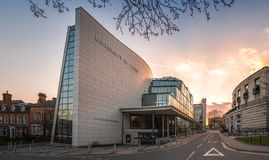 Ziff budynek - uniwersytet Leeds, UK Zdjęcia Stock