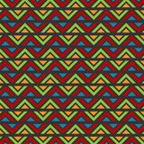 Zig Zag Abstract Batik Pattern Stock Photography