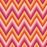 Zig Zag Background. In purple, orange, pink, beige Royalty Free Stock Image