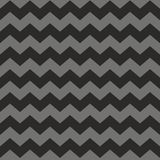 Zig zag chevron black and grey tile vector pattern Stock Images