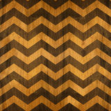 Zig zag chevron pattern - seamless background - wooden surface Stock Photo