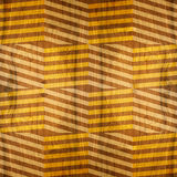 Zig zag chevron pattern - seamless background - wooden surface Royalty Free Stock Photography