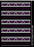 Zig zag diagonal pattern vector Royalty Free Stock Images
