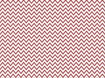 Zig Zag -Muster-rotes Weiß Stockfoto