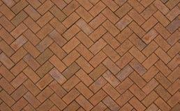 Zig-zag Pattern. Wonderful zig-zag brick block texture Stock Images