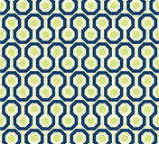 Zig zag pattern in green and blue Stock Image