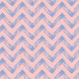Zig zag pattern with pink and purple lines Royalty Free Stock Images