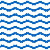 Zig zag pattern Stock Image