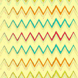 Zig zag seamless pattern Stock Photo