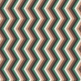 Zig-zag seamless pattern in rustic colors Royalty Free Stock Photos