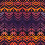 ZIG ZAG SEAMLESS PATTERN. Vector illustration Royalty Free Stock Photo