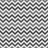 Zig-zag seamless pattern. Zig zag seamless pattern - vector retro monochrome fabric texture or chevron background Stock Images