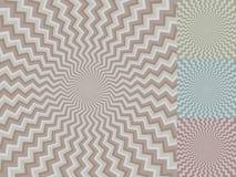 Zig-zag stripe background Royalty Free Stock Image