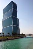 Zig Zag towers in Doha, Qatar Stock Photos