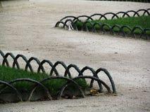 Zig Zag trädgårdbana Royaltyfria Foton