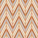 Zig zag vector pattern. ethnic seamless ornament Stock Photos