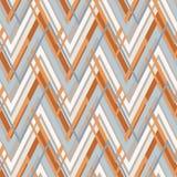 Zig zag vector pattern. ethnic seamless ornament Stock Photography