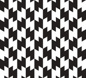 Zig Zag Vector Seamless Pattern. Royalty Free Stock Photos