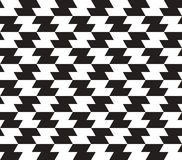 Zig Zag Vector Seamless Pattern. Stock Image