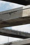 zig zag wpływ autostrady fotografia stock