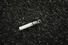Zigarette aber Stockfotos