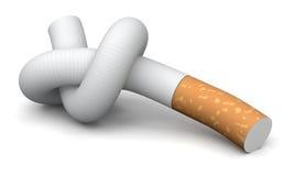 Zigarette (Beschneidungspfad eingeschlossen) Stock Abbildung