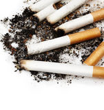 Zigarette buts Lizenzfreie Stockfotos