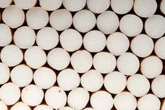 Zigarette filtert Hintergrund, Abschluss oben Lizenzfreie Stockbilder