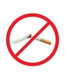 Zigarette gebrochen Stockfotos