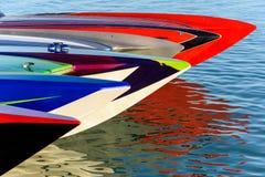Zigaretten-Boote bei Islamorada Stockfoto