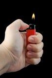 Zigaretten-Feuerzeug Lizenzfreies Stockbild
