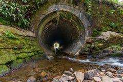Zigaretten-Tunnel Stockfoto
