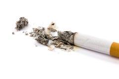 Zigarettenkippe stockbild